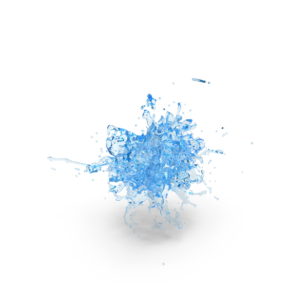 Water Blue Splash PNG & PSD Images