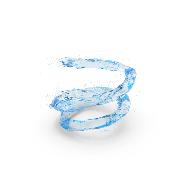 Water Blue Vortex PNG & PSD Images