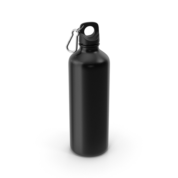 Water Bottle Black PNG & PSD Images