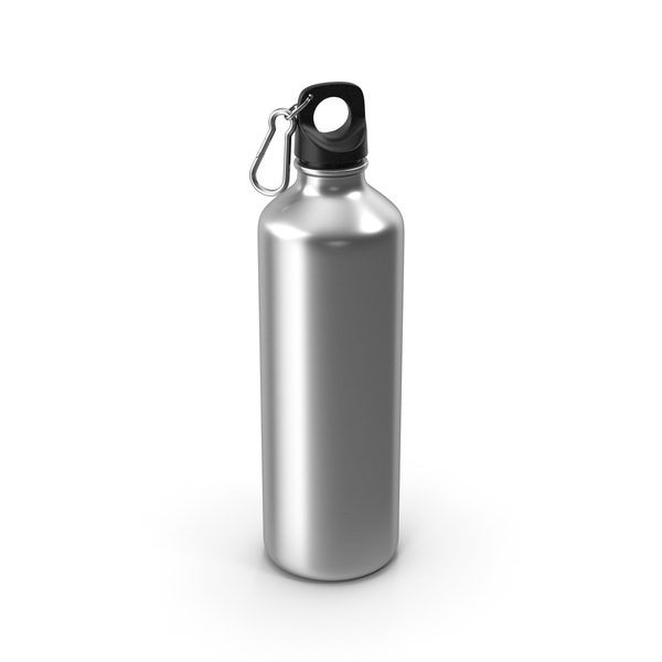 Water Bottle Metal PNG & PSD Images