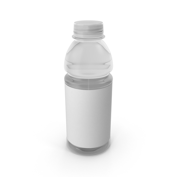 Water Bottle Mockup Object
