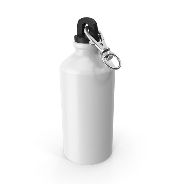 Water Bottle with Cap PNG & PSD Images