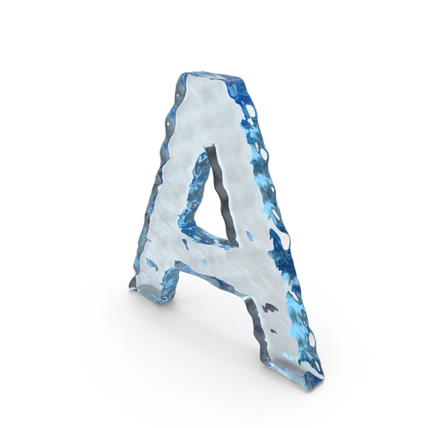 Water Letter A PNG & PSD Images