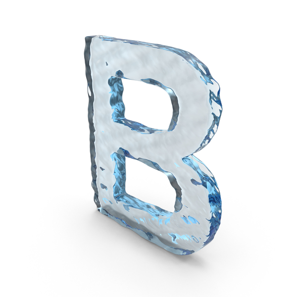 Water Letter B PNG & PSD Images