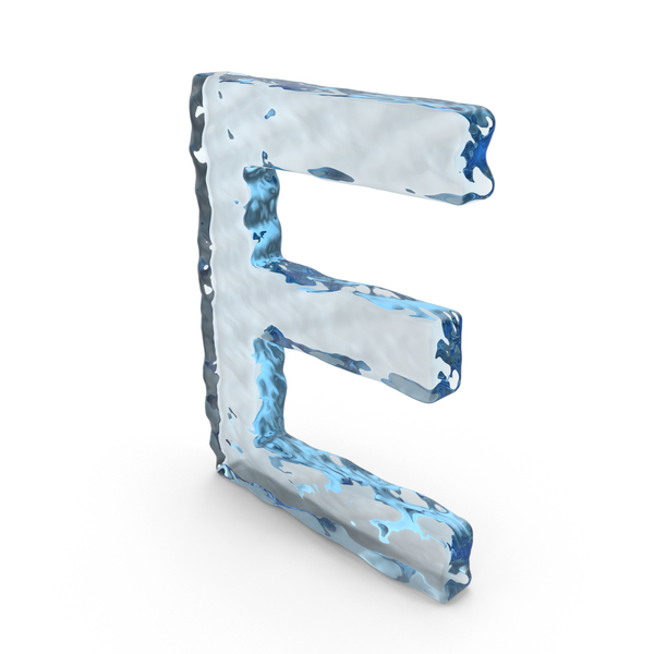 Language: Water Letter E PNG & PSD Images