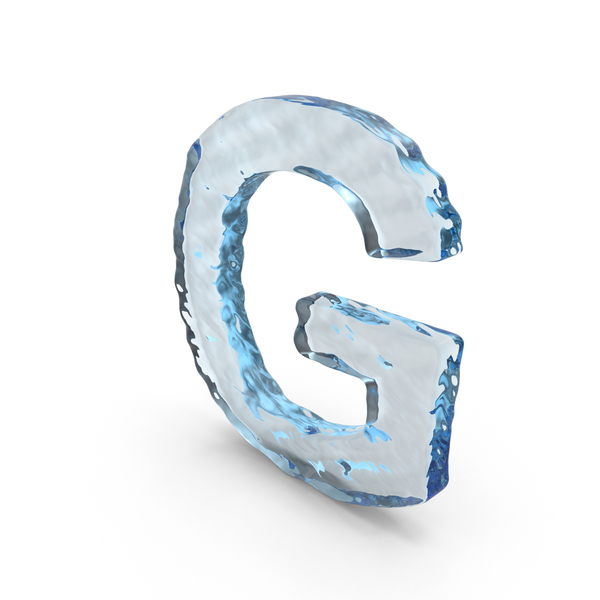 Language: Water Letter G PNG & PSD Images