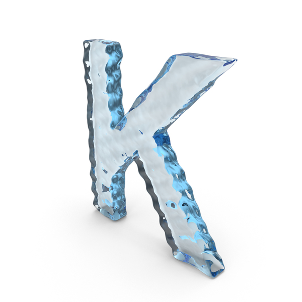 Water Letter K PNG & PSD Images