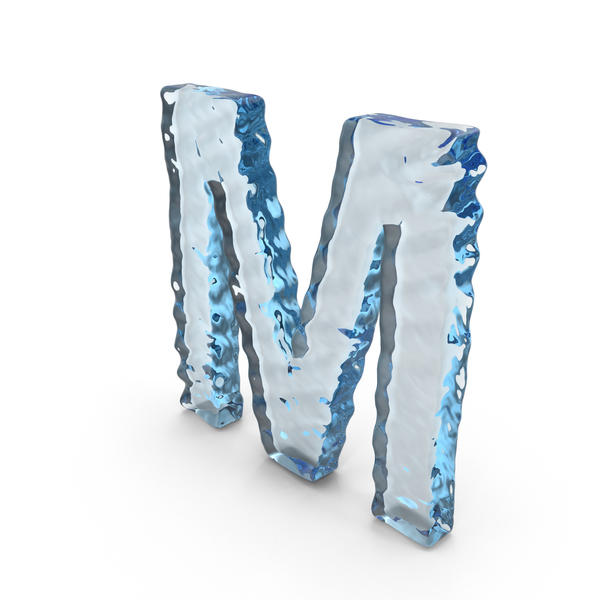 Water Letter M PNG & PSD Images