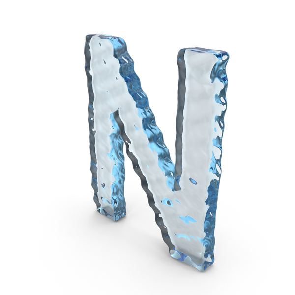 Water Letter N PNG & PSD Images