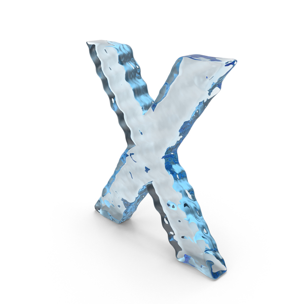Water Letter X PNG & PSD Images