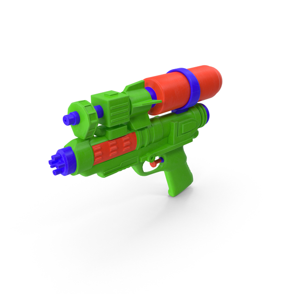 Water Pistol PNG & PSD Images