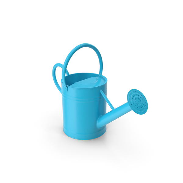 Watering Can Blue PNG & PSD Images