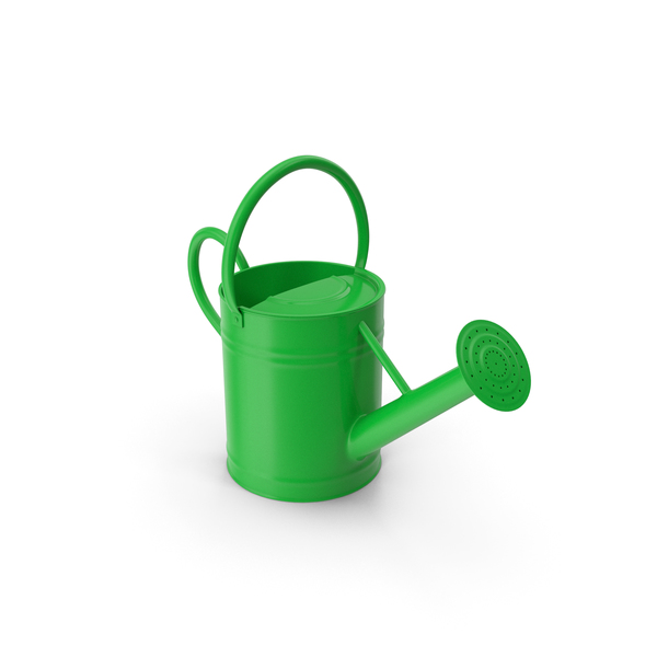 Watering Can Green PNG & PSD Images