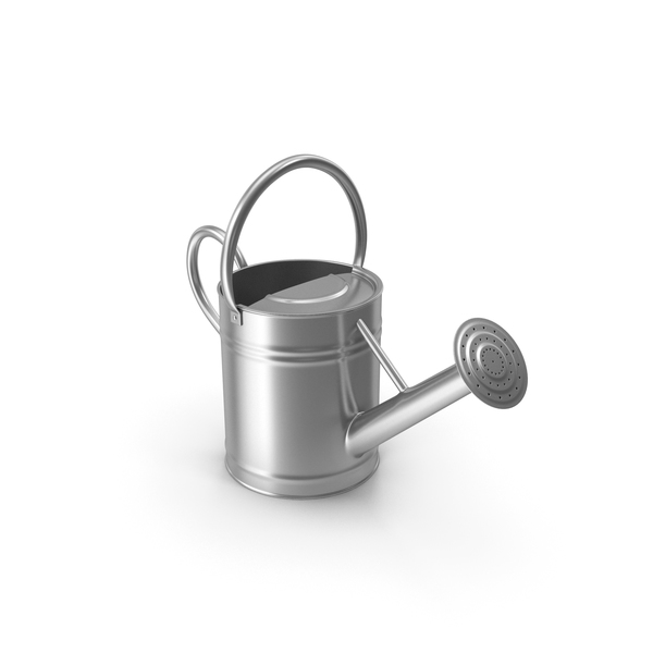 Toy: Watering Can Silver PNG & PSD Images