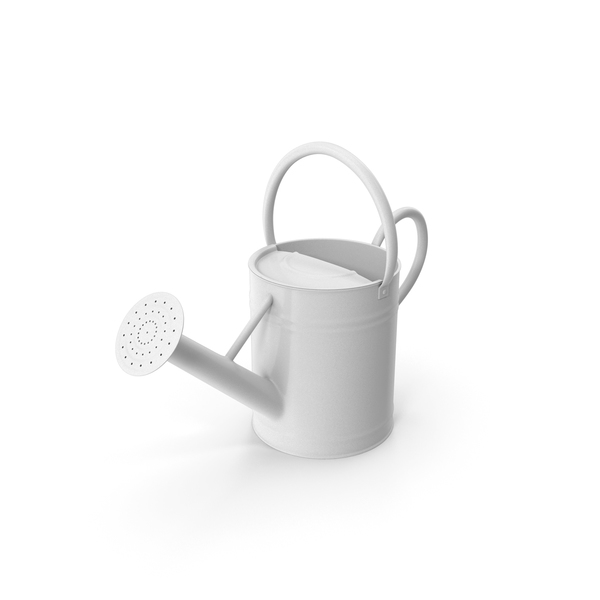 Watering Can White PNG & PSD Images