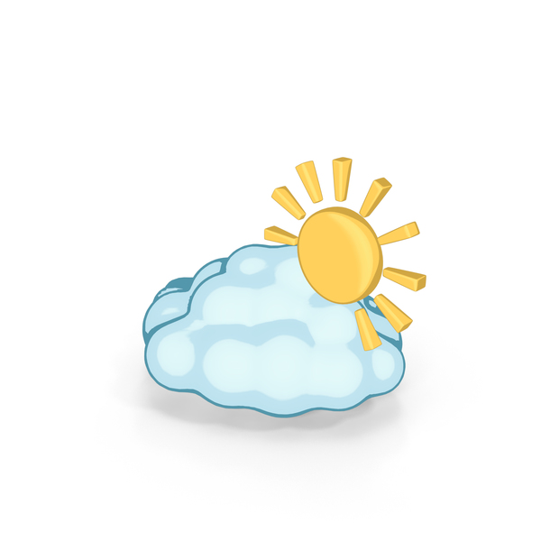 Weather Forecast Cartoon Partly cloudy PNG & PSD Images