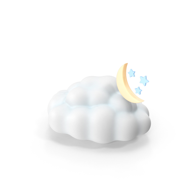 Cloud: Weather Forecast Night Partly Cloudy PNG & PSD Images