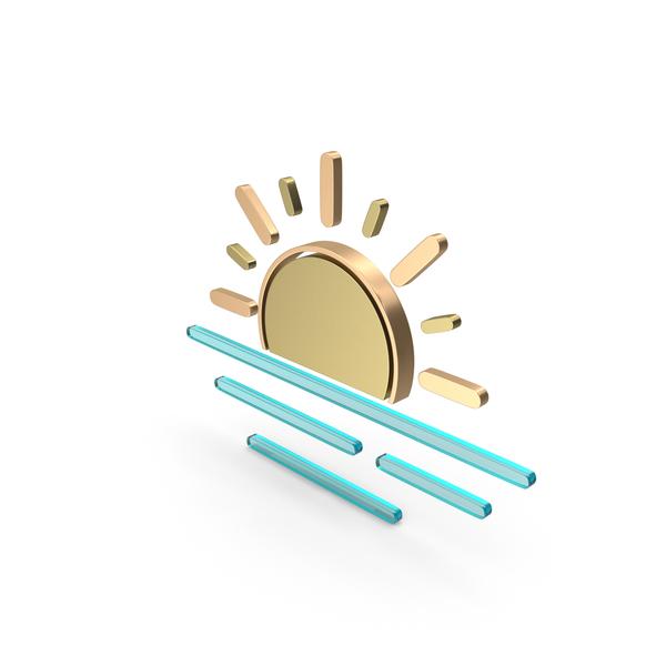 Meteorology Symbols: Weather Icon Haze PNG & PSD Images