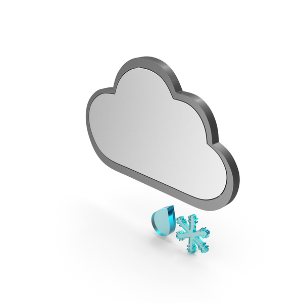 Weather Icon Sleet PNG & PSD Images