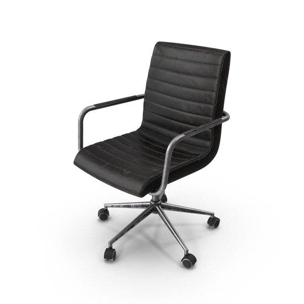 Weathered Office Chair PNG & PSD Images