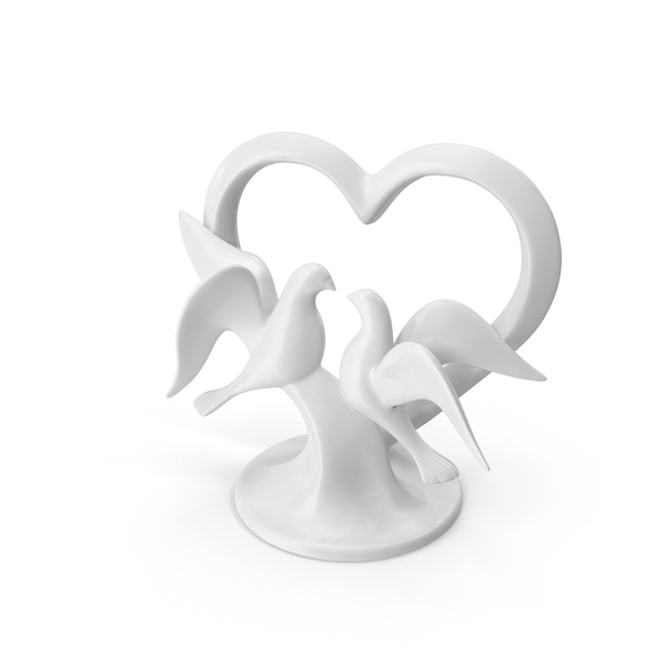 Wedding Cake Topper Object