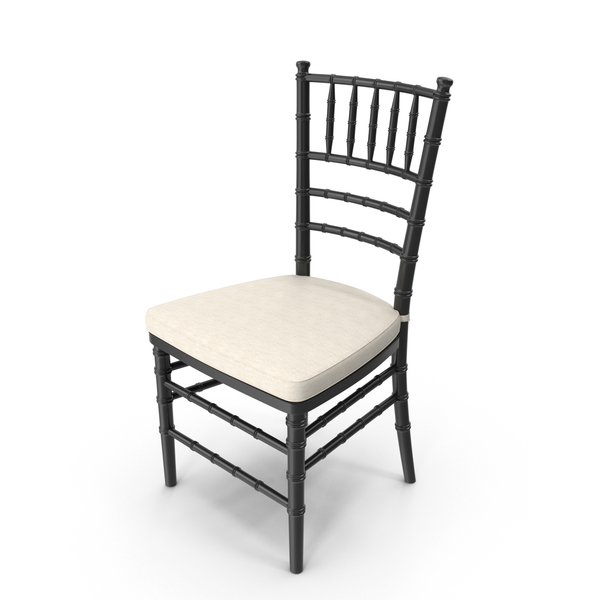 Wedding Chair Black PNG & PSD Images