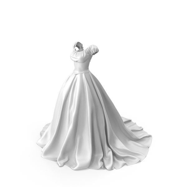 Wedding Dress PNG & PSD Images