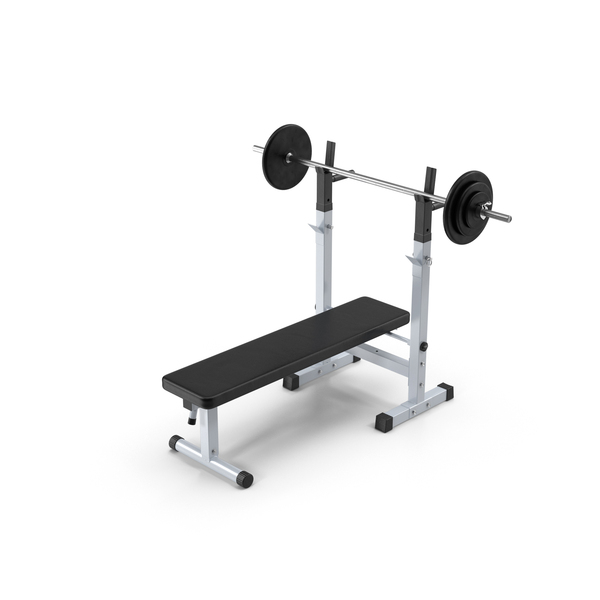 Press: Weight Bench PNG & PSD Images
