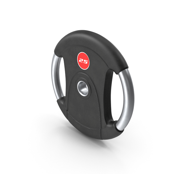 Weight Plate R 25 kg PNG & PSD Images