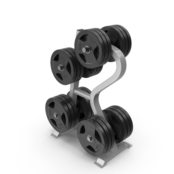 Plate Tree: Weight Rack PNG & PSD Images