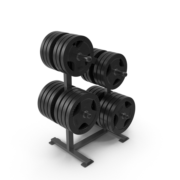 Weight Rack With Weights PNG & PSD Images