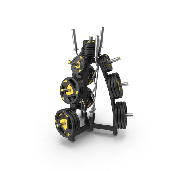 Weights Storage Rack Object