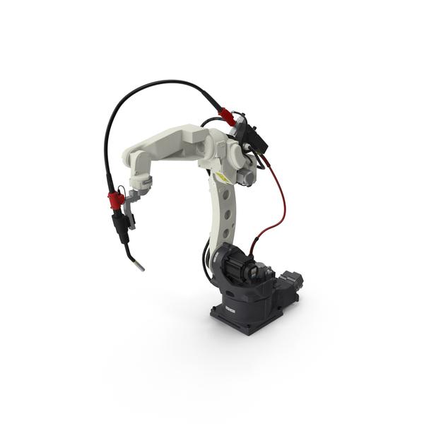 Robotic Arm: Welding Robot Panasonic TM1400 PNG & PSD Images