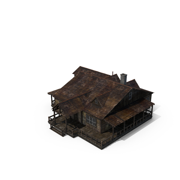 Western House 2 PNG & PSD Images