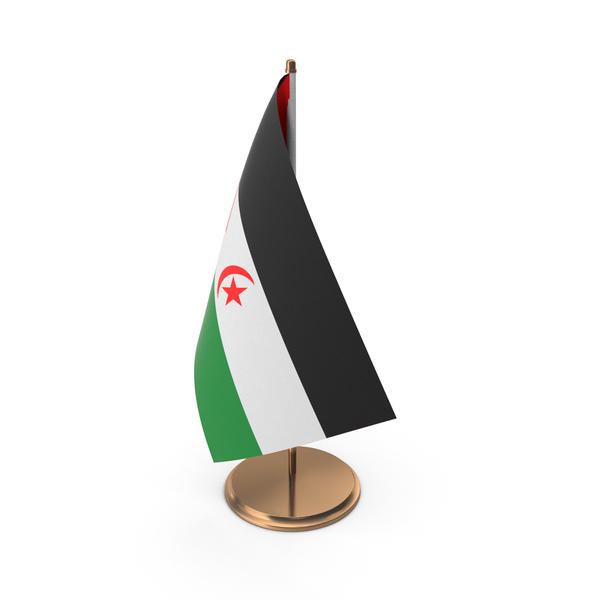Western Sahara Desk Flag PNG & PSD Images