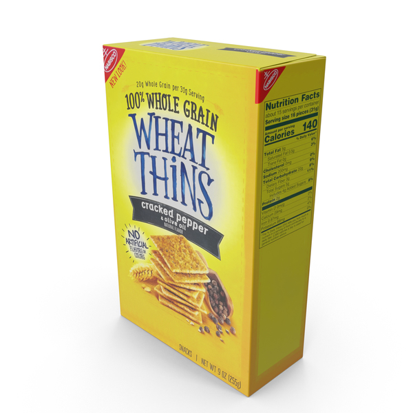Wheat Thins Pepper PNG & PSD Images