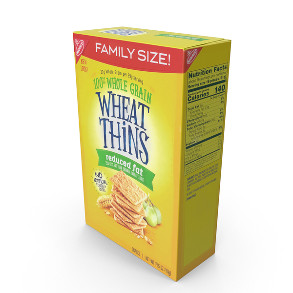 Wheat Thins Reduced Fat PNG & PSD Images