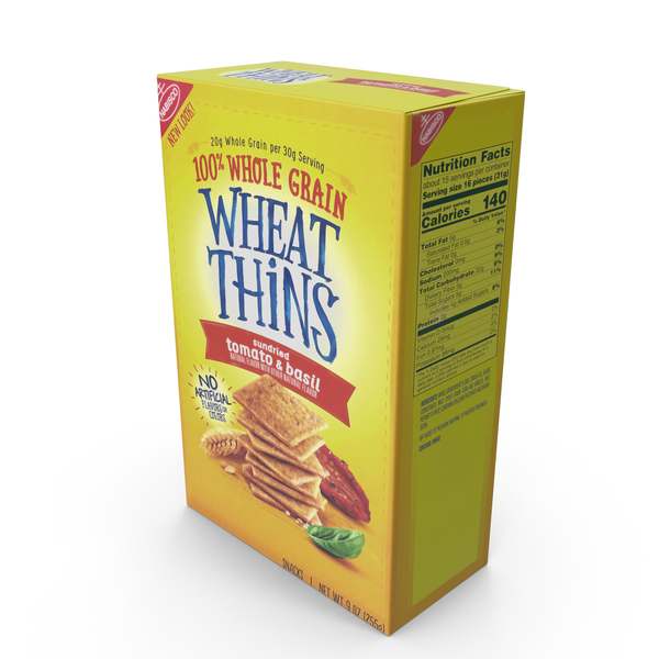 Wheat Thins Sundried Tomato PNG & PSD Images