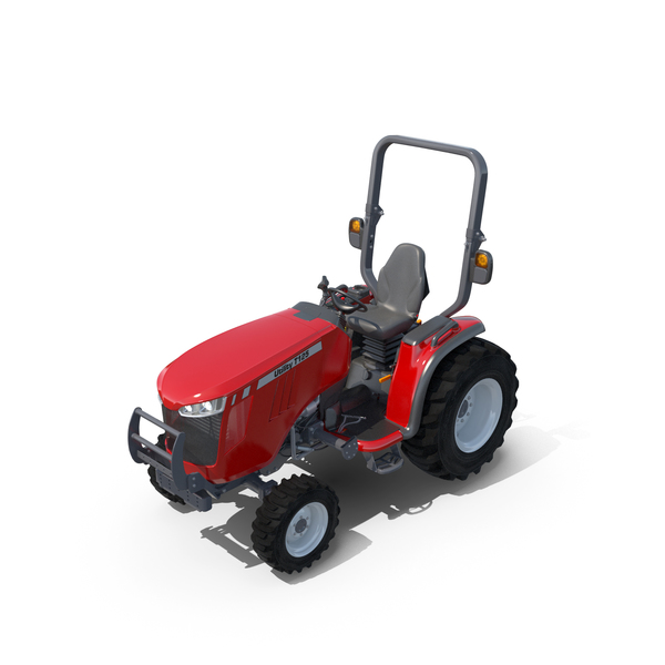 Wheel Compact Utility Tractor PNG & PSD Images