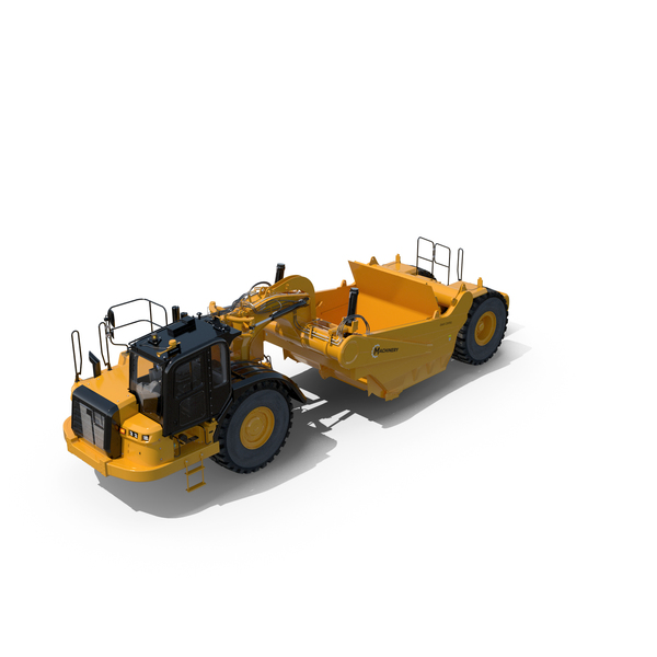 Wheel Tractor-Scrapers PNG & PSD Images