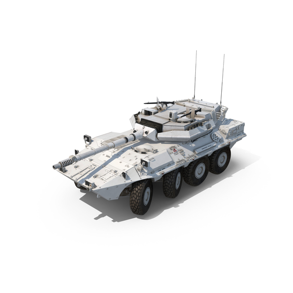 Wheeled Tank Destroyer B1 Centauro Object