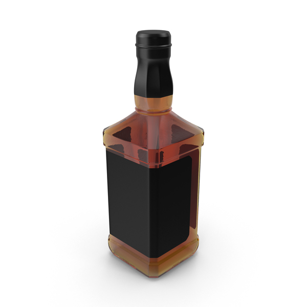 Whiskey Bottle Object