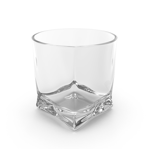 Glassware: Whiskey Glass Empty Object