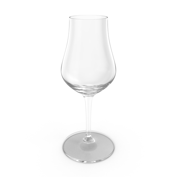 Whisky Tasting Glass Empty PNG & PSD Images