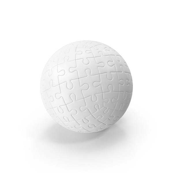 White Ball Puzzle PNG & PSD Images