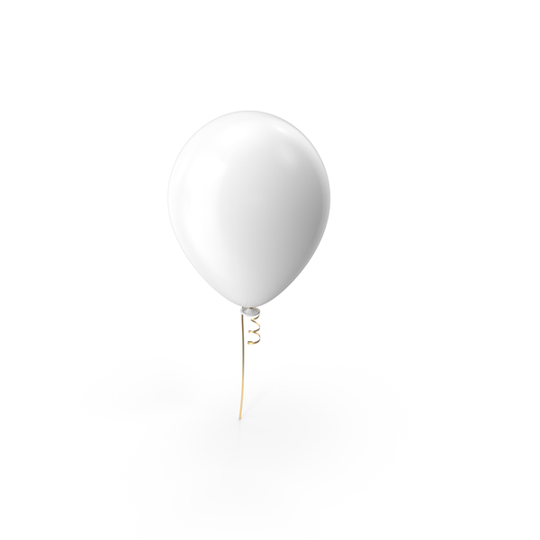 Balloons: White Balloon PNG & PSD Images