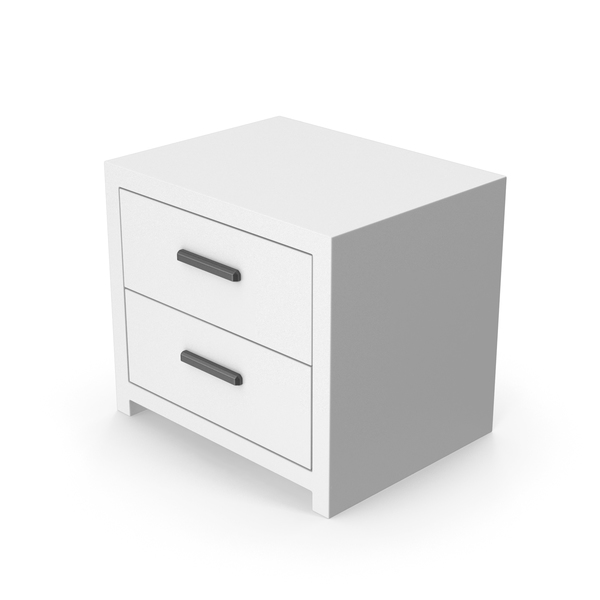 White Bedroom Cabinet PNG & PSD Images