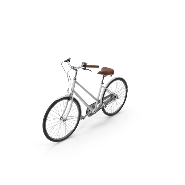 White Bike PNG & PSD Images