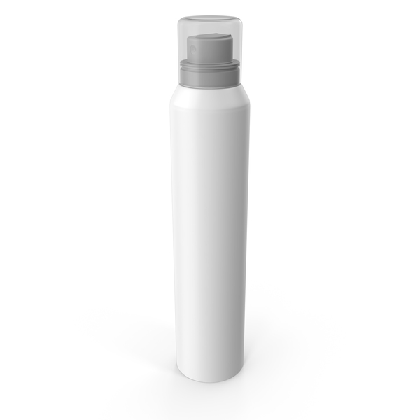 White Bottle Spray PNG & PSD Images