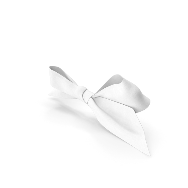 White Bow PNG & PSD Images